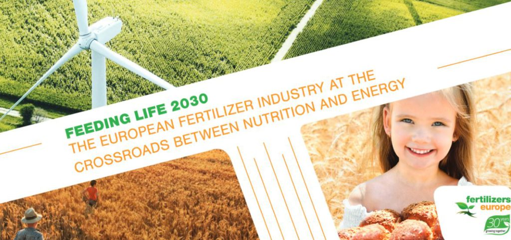 The European Fertilizer Industry at the crossroads between nutrition and Energy