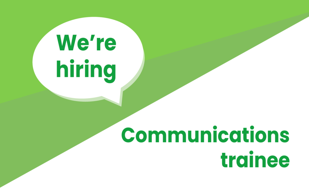 Job Vacancy - Communication trainee